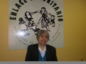 Maria Eugenia Leon -- a promotora at Enlace Comunitario